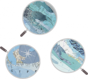 Heye 29872 -Map Art puzzle 2000 pz Map Wave