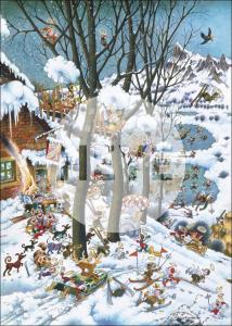 Heye 29961-Paradise puzzle 1000 pz In Winter