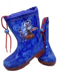 Stivali pioggia Gormiti con luci numero dal 25 al 32