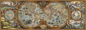 Heye 29615 -Map Art puzzle 6000 pz Emysphere Map