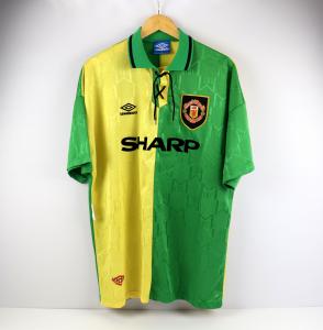 1992-94 Manchester United Terza Maglia Sharp  XL  (Top)