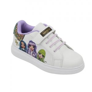 Scarpe Sneakers Rainbow High Bianco Numeri dal 25 al 32 novità Omaggio Due pennarelli