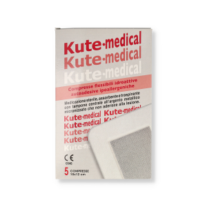 KUTEMED MEDIC ADESIVA 10X12 - 5P