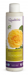 Bio Bagnoschiuma con Golji e Rosa Centifolia 100% Naturale by Qualiterbe