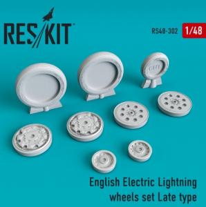 English Electric Lightning Wheels