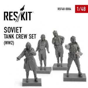 Soviet tank crew set