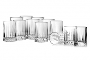 Set di 12 bicchieri in vetro da shot Elysia da cl 6