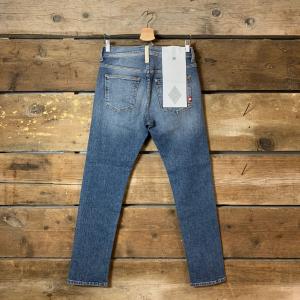 Jeans Amish Supplies Uomo David Comfort Mid Stone Wash