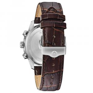 Bulova Orologio Sutton, cronografo Grand Data quadrante argento