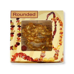 ALMABABY AMBRA ROUNDED HONEY