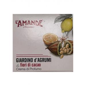 L'AMANDE GIARDINO D'AGRUMI&FIORI CACAO CREMA PROFUMO