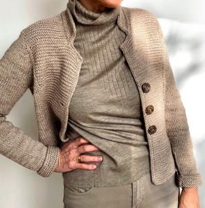 """Workshop online: """"Ripple Jacket"""" – Modello di Hinterm Stein"""