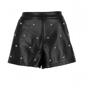 Shorts nero con borchie di ODI' ODI'