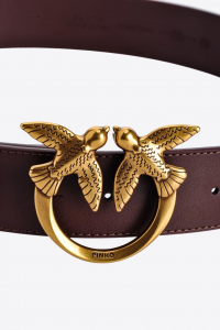 SHOPPING ON LINE PINKO CINTURA LOVE BIRDS IN PELLE NEW COLLECTION WOMEN'S FALL/WINTER 202