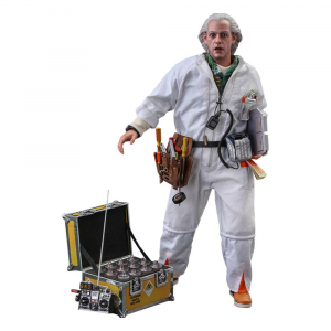 *PREORDER* Back To The Future Movie Masterpiece: DOC BROWN (Deluxe Version) 1/6 by Hot Toys
