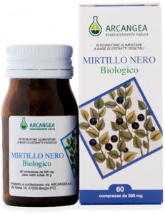 MIRTILLO NERO BIOLOGICO - 30 compresse