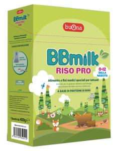 BB MILK RISO PRO 0-12 400G
