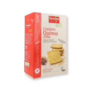 GERMINAL CRACKERS QUINOA/CHIA SENZA/GLUTINE 150G