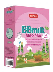 BB MILK RISO PRO 1-3 400G