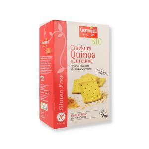 GERMINAL CRACKERS QUINOA/CURCUMA SENZA GLUTINE 150 G