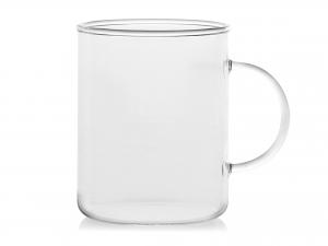 Confezione 6 Mug In Borosilicato Cilindrica Con Manico Cl40