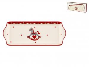 Piatto In Ceramica, 32x12 Cm