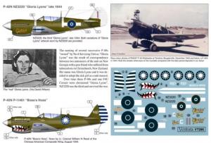 RNZAF P-51D Mustangs