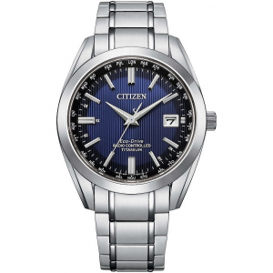 Citizen solo tempo uomo H145 Elegance, quadrante blu
