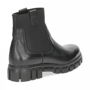 Felmini Tronchetto C433 pelle nera-5