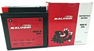 4418917 BATTERIA MALOSSI MB9-B GEL 12V 9,5 AH MOTOCICLI SCOOTER
