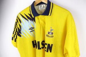 1991-95 Tottenham Maglia Away L