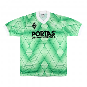 1989-90 Werder Brema Maglia #5 Away M