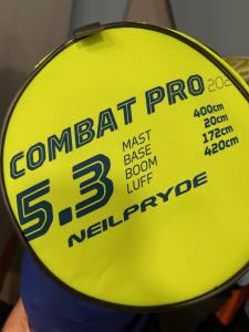 Vela windsurf 5.3 Combat PRO