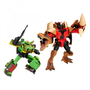 *PREORDER* Transformers x Jurassic Park: TYRANNOCON REX & AUTOBOT JP93 by Hasbro