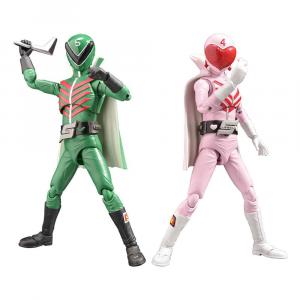 *PREORDER* Himitsu Sentai Gorenger Hero: MOMORENGER & MIDORENGER by Evolution Toys