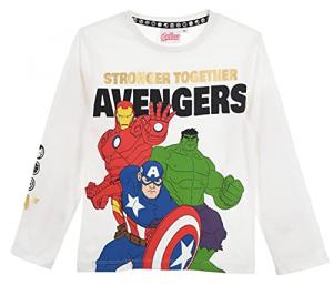 Maglietta Avengers da 4 a 10 anni