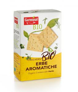 GERMINAL BIO CRACKERS ERBE AROMATICHE 175GR