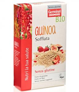 GERMINAL QUINOA SOFFIATA SENZA/GLUTINE BIO 100G