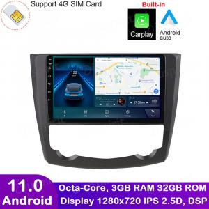 ANDROID autoradio navigatore per Renault Kadjar 2015-2017 CarPlay Android Auto GPS USB WI-FI Bluetooth 4G LTE