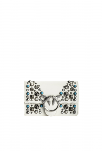 SHOPPING ON LINE PINKO BABY LOVE BAG ICON ETHNIC STUDS NEW COLLECTION WOMEN'S SPRING SUMMER 2021-2