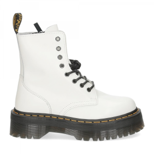 Dr. Martens Anfibio Jadon White polished smooth-2