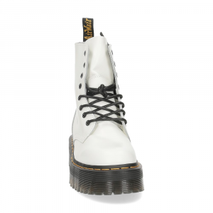 Dr. Martens Anfibio Jadon White polished smooth-3