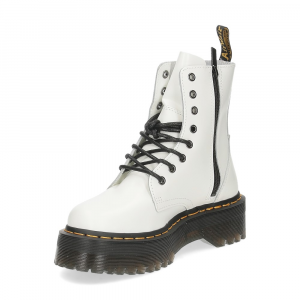 Dr. Martens Anfibio Jadon White polished smooth-4