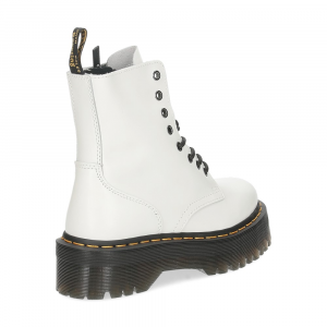 Dr. Martens Anfibio Jadon White polished smooth-5