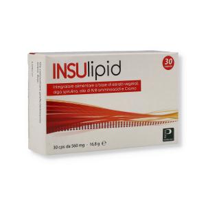 INSULIPID - 30CPR 30G