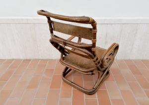 Poltrona vintage Tito Agnoli per Bonacina