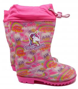 Stivali pioggia Unicorno numeri dal 23 al 31