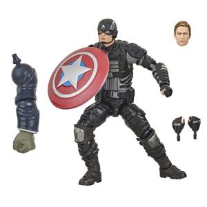 Marvel Legends Series Avengers Gamer Verse: CAPTAIN AMERICA (Joe Fixit BAF) by Hasbro