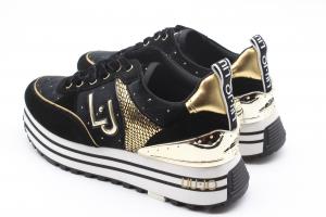 Liu Jo Sneakers nere in suede