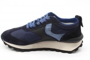 Voile Blanche Uomo Sneaker Qwark Blu